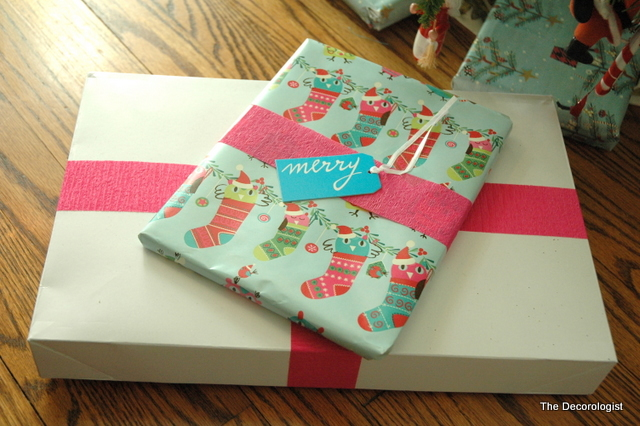 DSC 2916 Simple Tip for Christmas Gift Wrapping