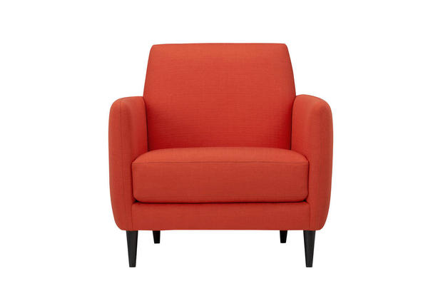 tangerine tango chair via deseretnews Pantones 2012 Color of the Year Announced:  Tangerine Tango!