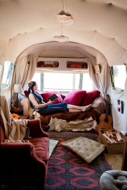 airstream trailer boho via re nest Pipe Dreams, Airstreams, and Pinterest