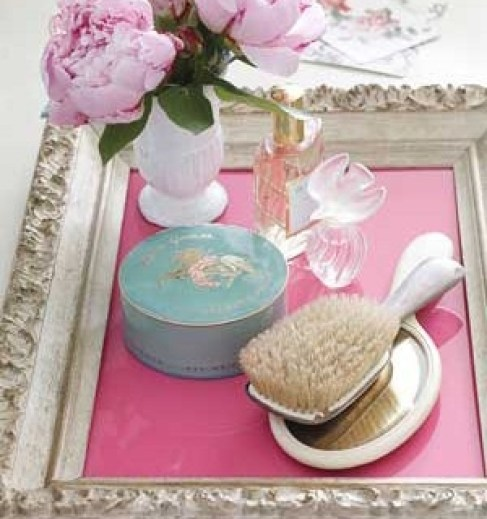 picture frame for vanity dresser Even a Compulsive Collector Can Be Organized