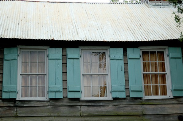 pirate house via flickr Haint It Lovely?  Using Haint Blue on Exteriors