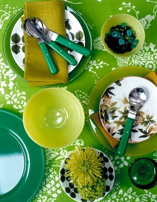all greens go together The Most On Trend Family of the Year