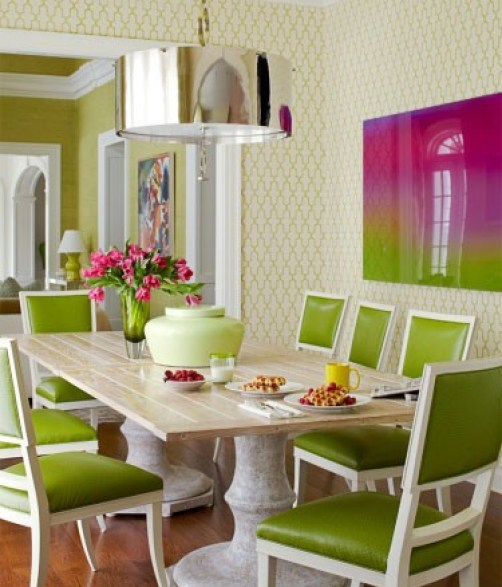 lime dining The Most On Trend Family of the Year