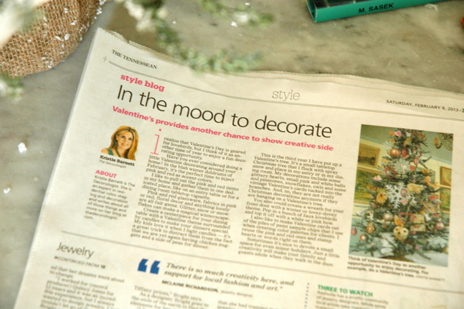 the decorologist in the tennessean newspaper
