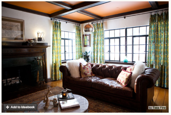 See how careful curating and a strong vision turned an empty New England home into an eclectic sight to behold 600x403 How Do You Paint a Tudor Style Home?