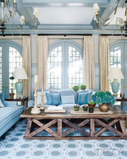 Storybook elle decor tudor sunroom How Do You Paint a Tudor Style Home?