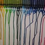 Crayons + Heat = Art