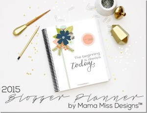 Mama Miss Designs blogger planner #review #giveaway