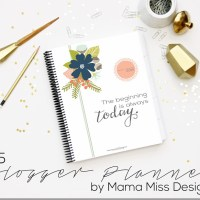 Start 2015 With A Fabulous Blog Planner {Giveaway}