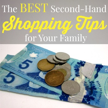 As a single-income family, we do a number of things to stretch our dollar. There are many budget tips available but second-hand shopping is one of my favourite ways to save money. Make the most of your budget and check out the best second-hand shopping tips for your family.
