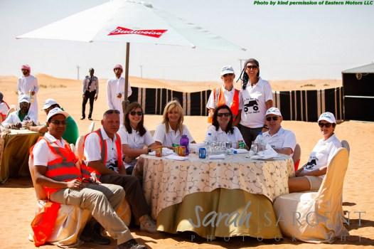 Marshals and passengers - Andy, Nikki, Donna, Marina, Nic, Karen, Neil and Judith