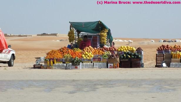 Fruitsellers - adding a splash of colour to Million Street