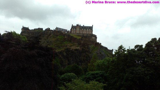Had to sneak one in of the castle, to prove we were in Edinburgh