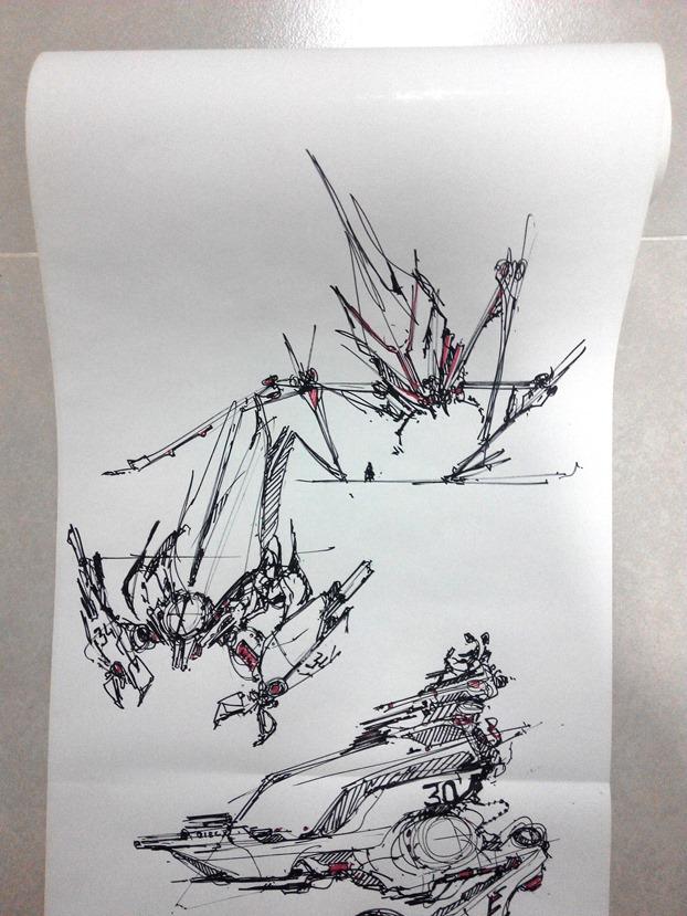 sketching challenge concept art the design sketchbook a