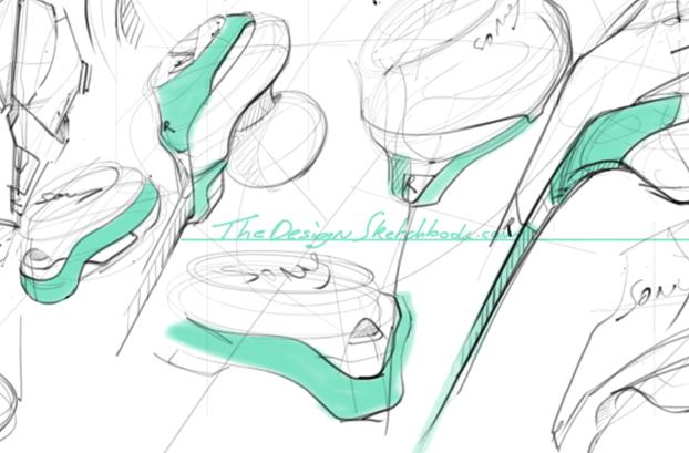 Doodle-storm-earphone-design-sketching