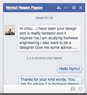 Facebook question Nymul