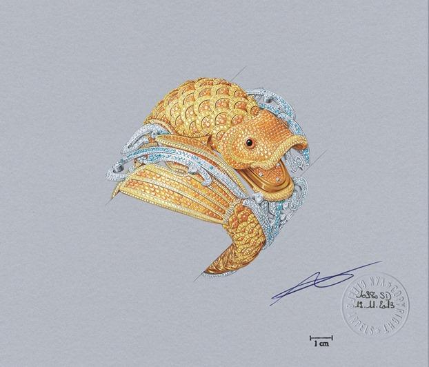 Van Cleef and Arpels - Koi-Design