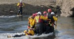 RNLI Flood Rescue Team training to rescue casualties in flood waters credit RNLI Simon Culliford MS.jpg