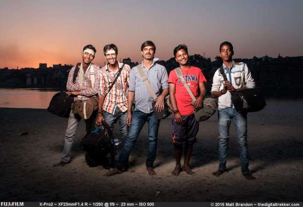 Special thanks to our India crew. Raju and his men were a great help schlepping our gear and translating.