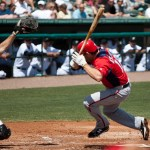 Random image: Danny Espinosa hit by pitch