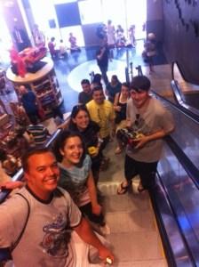 Meeting Disney friends in NYC