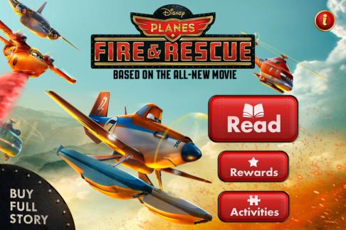 Planes: Fire & Rescue App Title