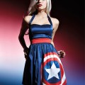 Her Universe Captain America Halter Dress