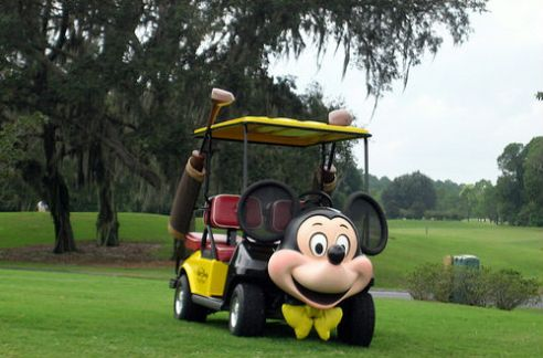 disney-golf-cart