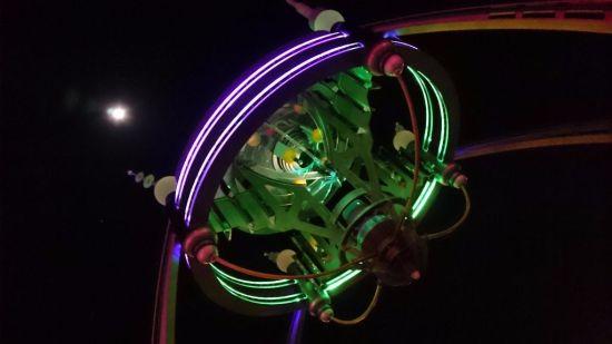 Full Moon Over Tomorrowland - Wordless Wednesday