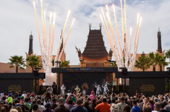 star wars stage show disney hollywood studios