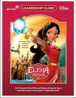 elena of avalor leadership guide cover