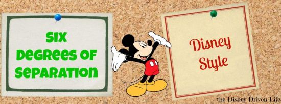 Six degrees of separation Disney Style