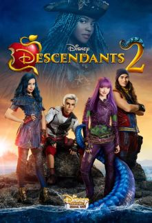 SOFIA CARSON, CAMERON BOYCE, CHINA ANNE MCCLAIN, DOVE CAMERON, BOOBOO STEWART Descendants 2