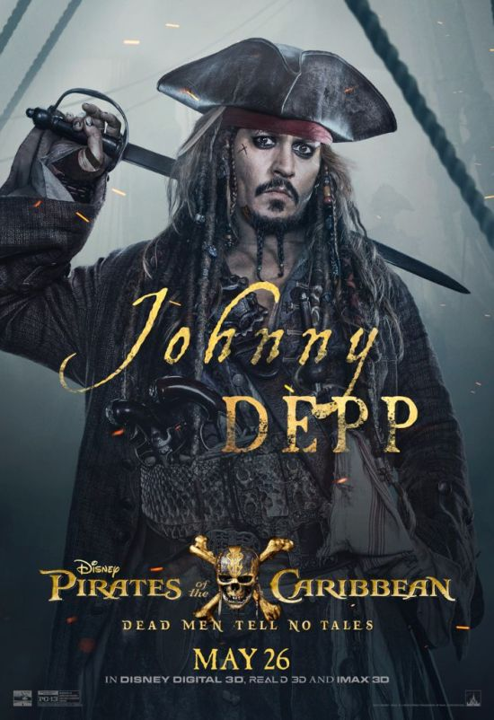 Pirates of the Caribbean 5 Jack Sparrow