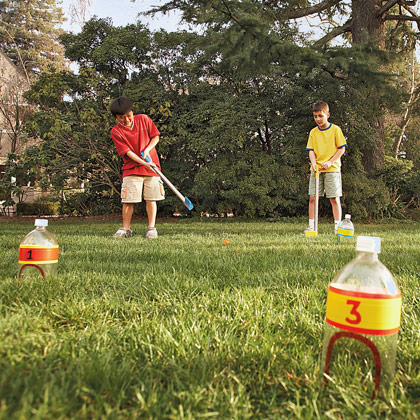 portable golf course craft