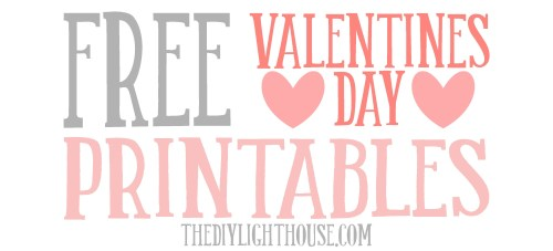 Medium Of Free Valentine Printables