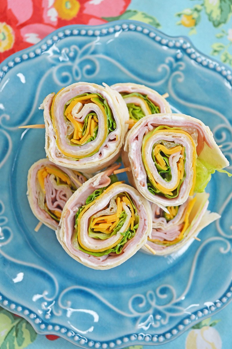 Large Of Ham And Cheese Pinwheels