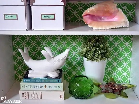 whale on shelf
