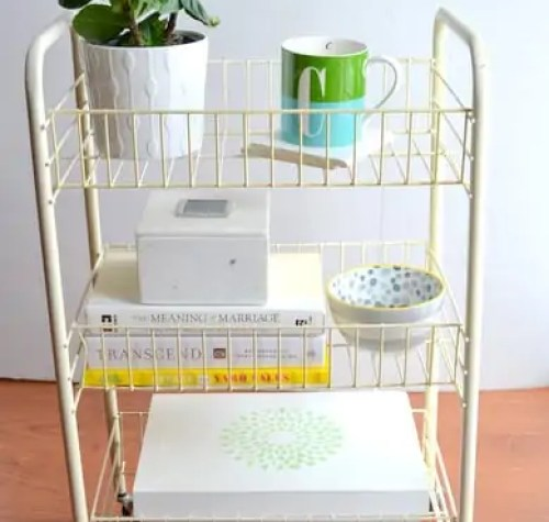 Three-Tiered-Library-Cart