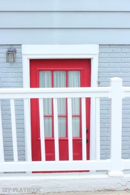 red doorway