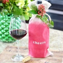 wine christmas cheers