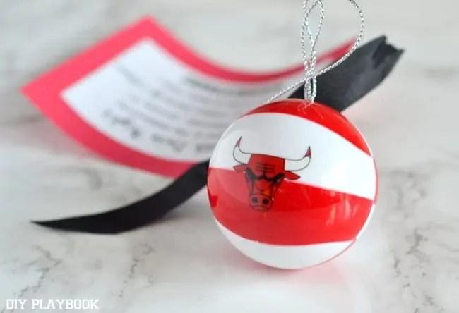 Bulls-Ornament
