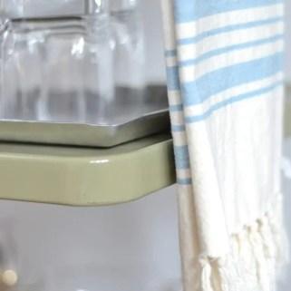 Blue-White-Towel