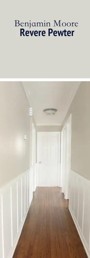 Paint Color Hallway