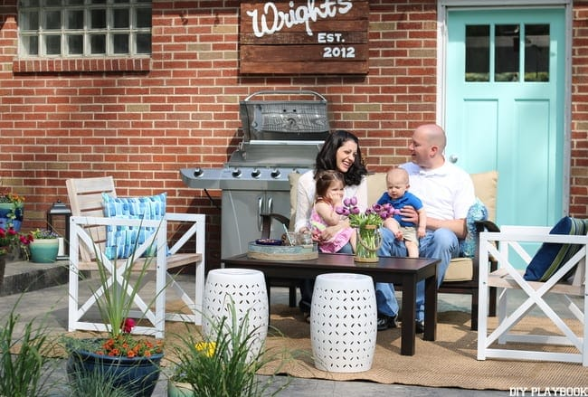 Lowe's Patio Makeover - REVEAL