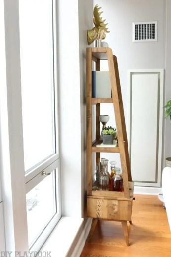 maggie reveal shelves