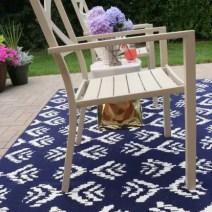 patio rug chair target