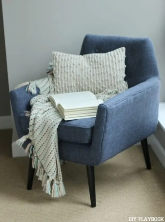 Chair Reading Nook Maggie Bedroom
