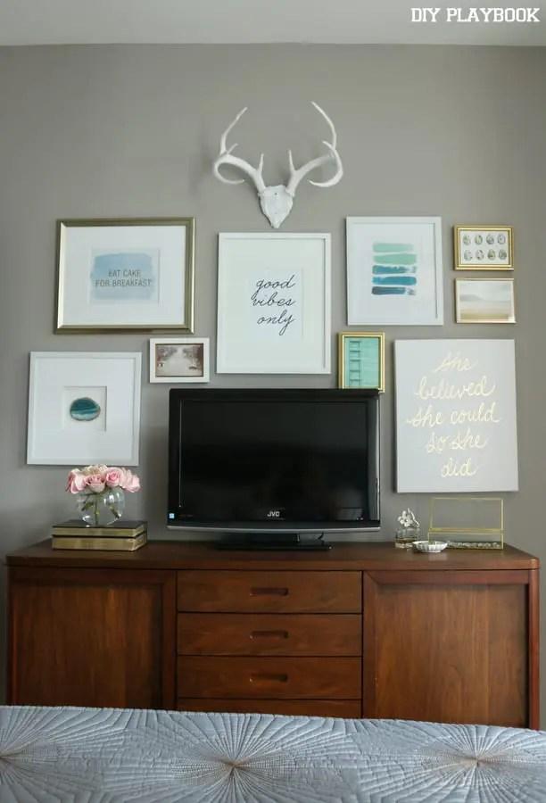 Maggie Bedroom Gallery Wall