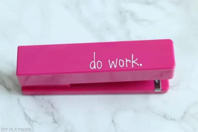 do work stapler